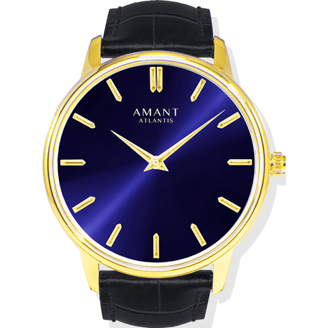 AMANT Atlantis Gold Watch | Black