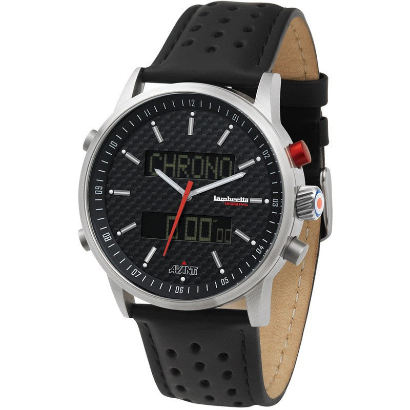 Lambretta Avanti Watch | Black 2112BLA