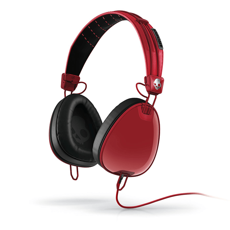 Skullcandy | Aviator Red w/Mic