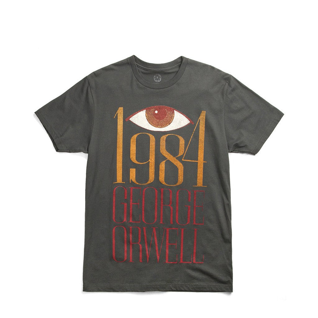 Out of Print 1984 Men's T-Shirt | Charcoal B-1053