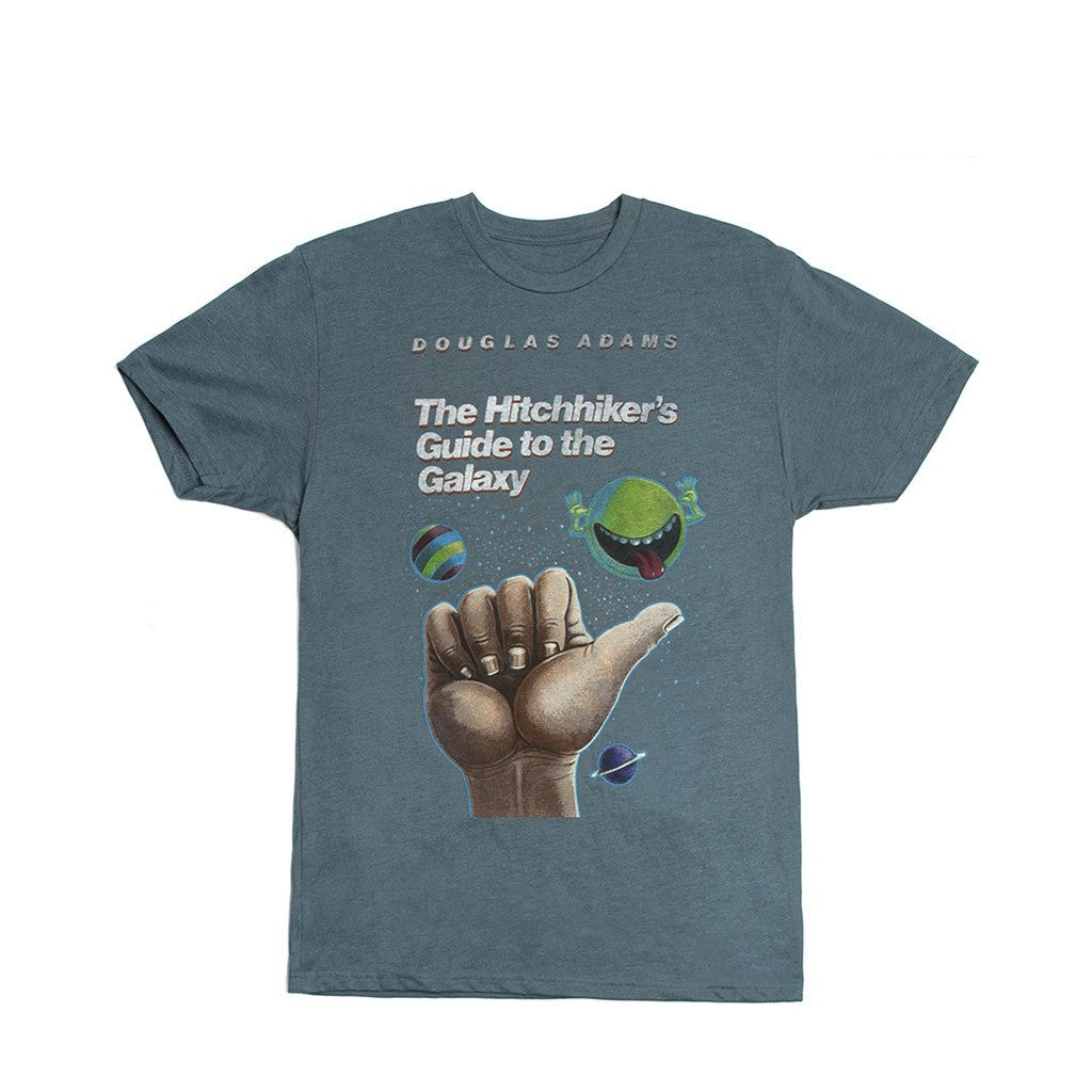 Out of Print Hitchhiker's Guide to the Galaxy Men's T-Shirt | Indigo B-1093