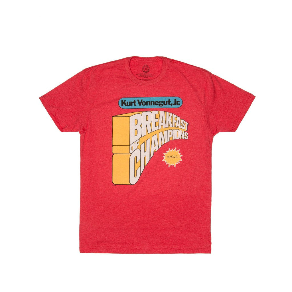 Out of Print Breakfast of Champions Shirt | Red Size XL B-1110-05
