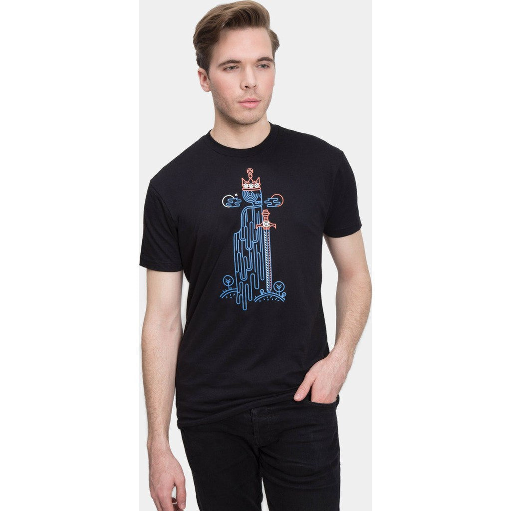 Out of Print Hamlet Men's T-Shirt | Black B-1174
