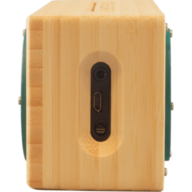 Otis & Eleanor Bongo Portable Wood Speaker | Railay