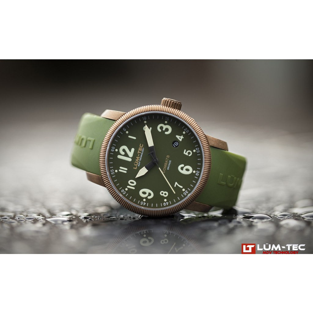 Lum-Tec B19 Bronze Watch | Leather Strap