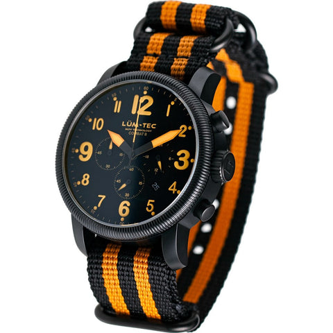 Lum-Tec B25 Chronograph Watch | Nylon Strap