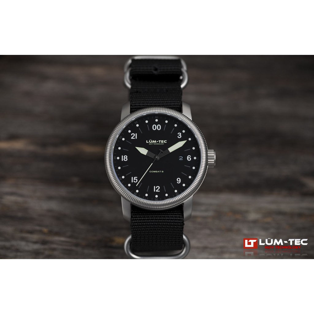 Lum-Tec B28 Military Watch | Nylon Strap