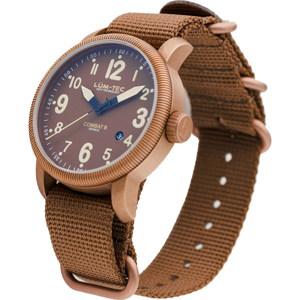 Lum-Tec B31 Bronze Watch | Nylon Strap