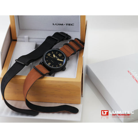 Lum-Tec B35 Automatic Watch | Leather Strap