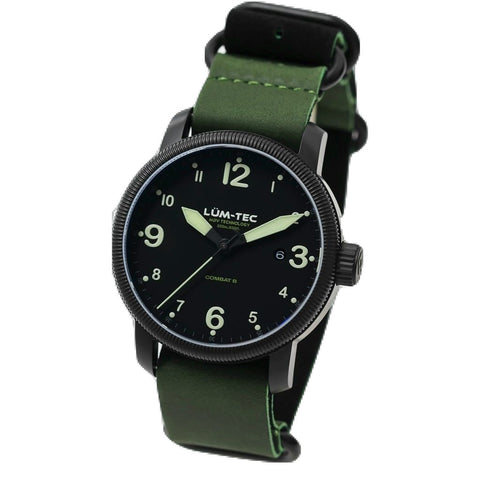 Lum-Tec B36 Watch | Leather Strap