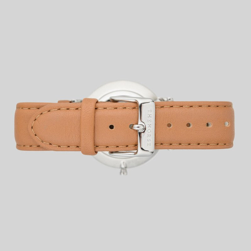 The Horse Classic Steel Watch | Tan B3