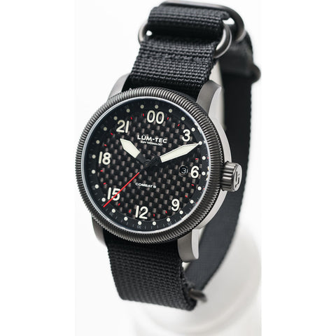Lum-Tec Combat B41 24HRS Watch | Nylon Strap LTB41