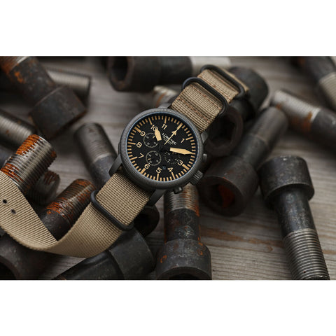 Lum-Tec Combat B44 Chronograph Watch | Nylon
