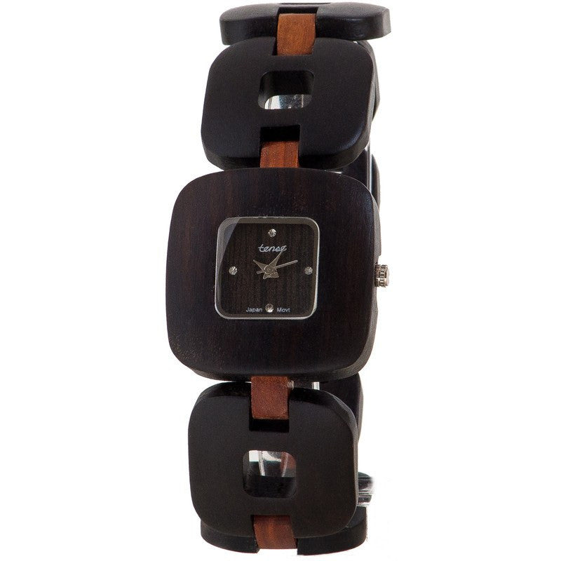 Tense Kayak Coastal Women's Watch Dark Sandalwood/ Sandalwood | B8204DS