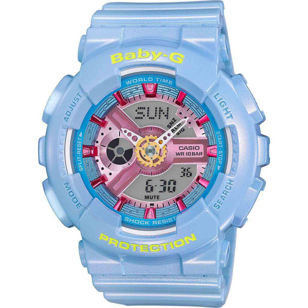 Casio Baby-G BA-110CA-2ACR Watch | Light Blue