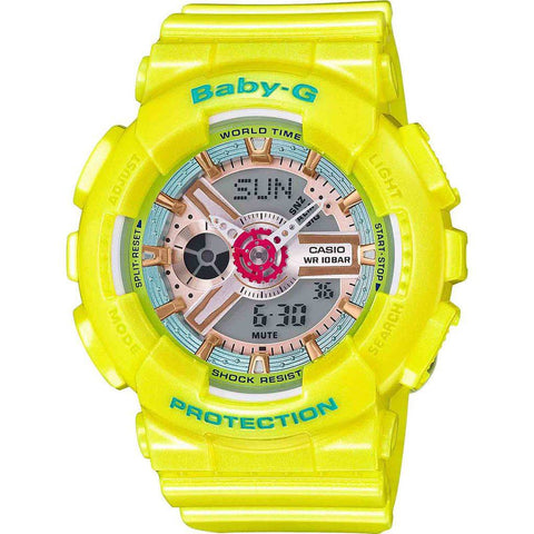 Casio Baby-G BA110CA-9A Watch | Yellow
