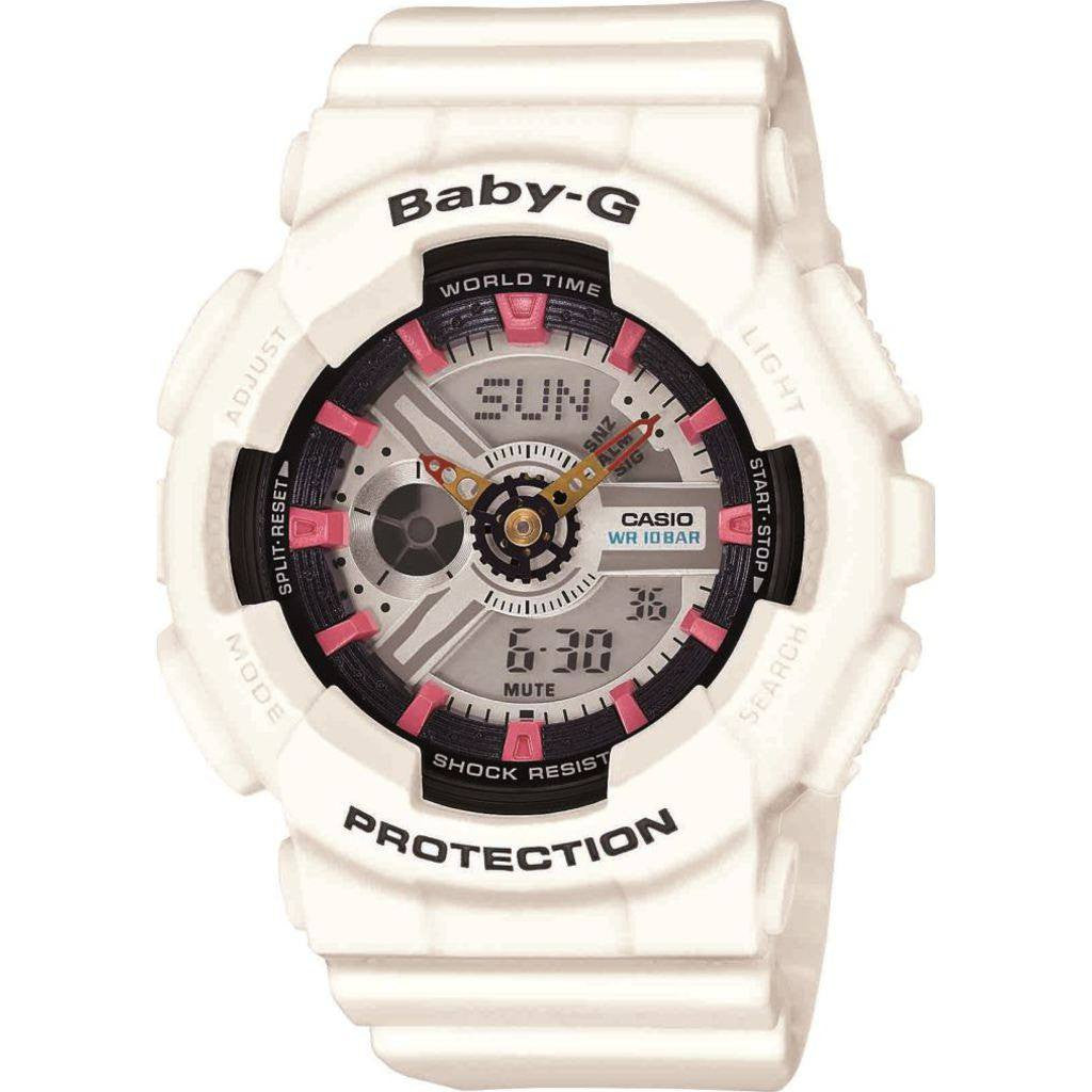 Casio Baby-G Watch | White BA-110SN-7A