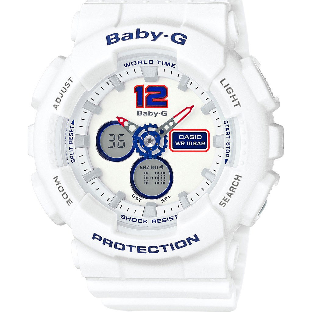 Casio Baby-G Digital BA-120TR-7BCR Watch | White