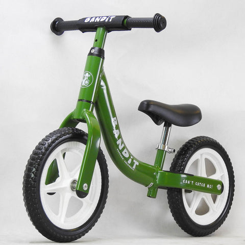 Bandit Kid's Balance Bike | Forest Green