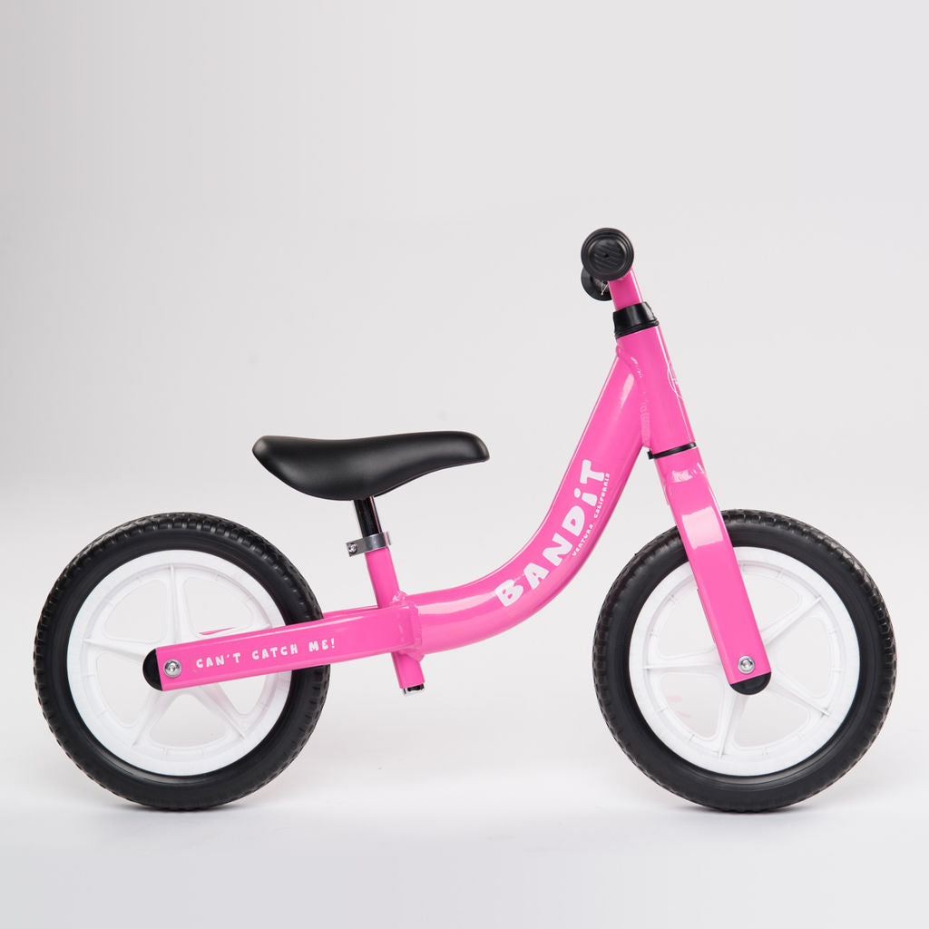 Bandit Kid's Balance Bike | Pink