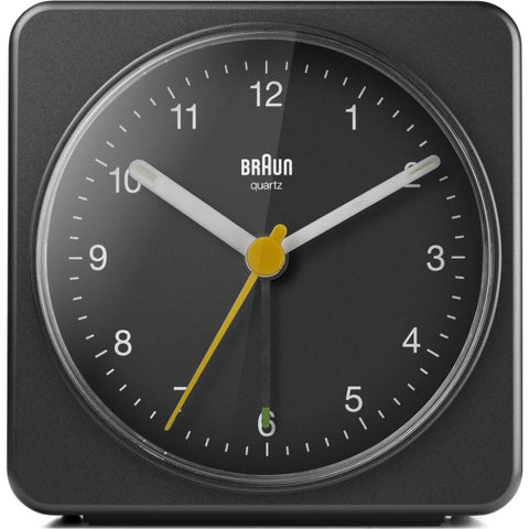 Braun BC03 Large Travel Alarm Clock | Black