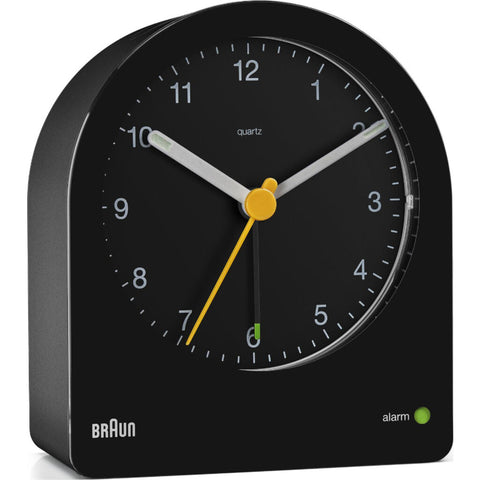 Braun Arched Travel Alarm Clock | BC22