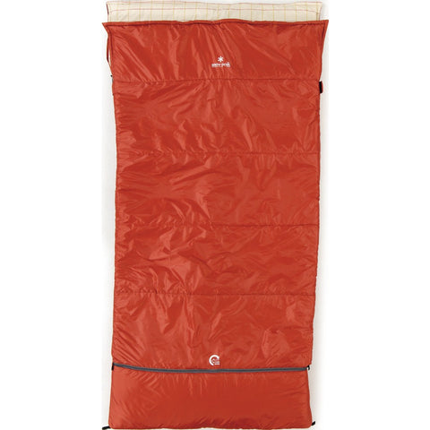 Snow Peak Ofuton Wide Sleeping Bag | Red BD-103