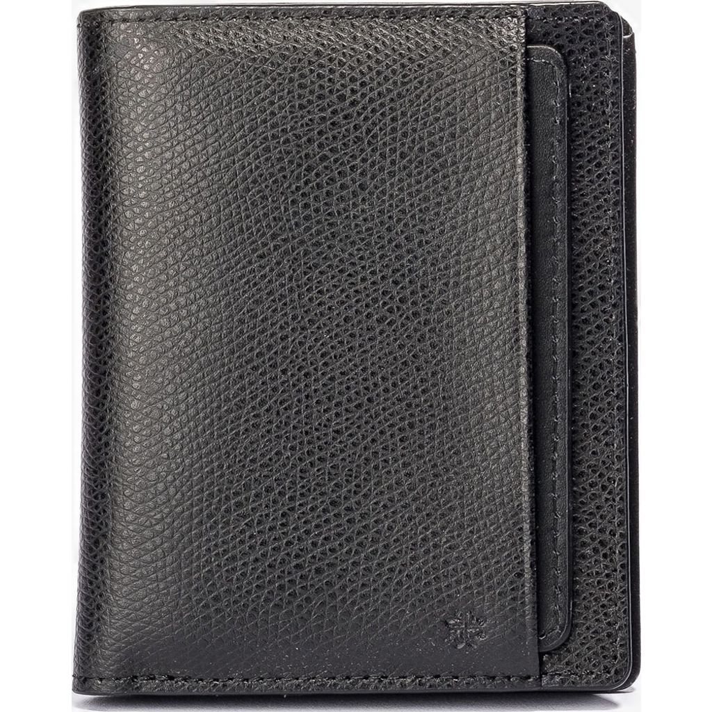 4d4d47cc92a9 Hook   Albert Bi-Fold   Card Holder Wallet in Black - Sportique