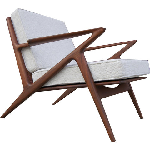 Bowery & Grand BG003-04 Ivory Chair | Polaris Z
