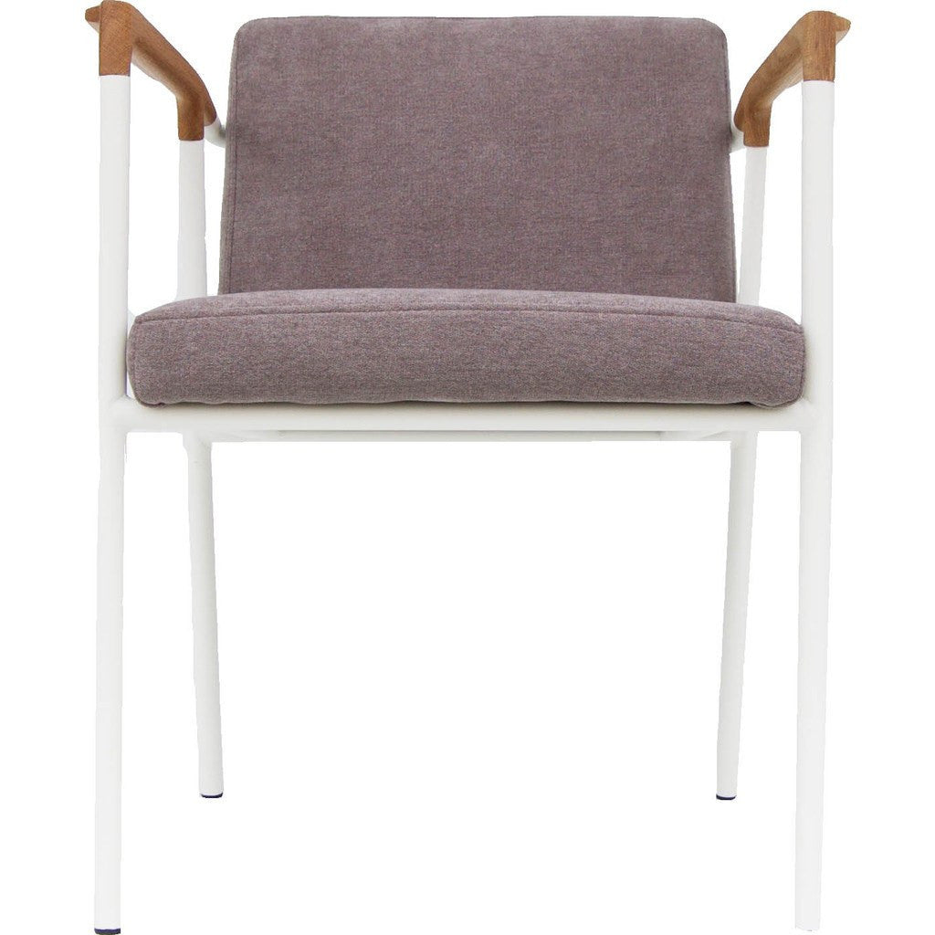 Bowery & Grand BG1117 Matte White Chair | Madison