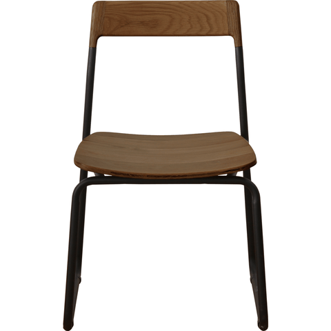 Bowery & Grand BG1120 Matte Black Chair | Baker