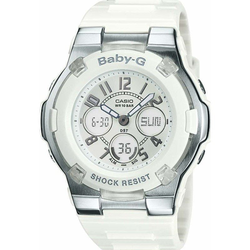 Casio Baby-G Shock-Resistant Sport Women's Watch | White BGA-110-7B