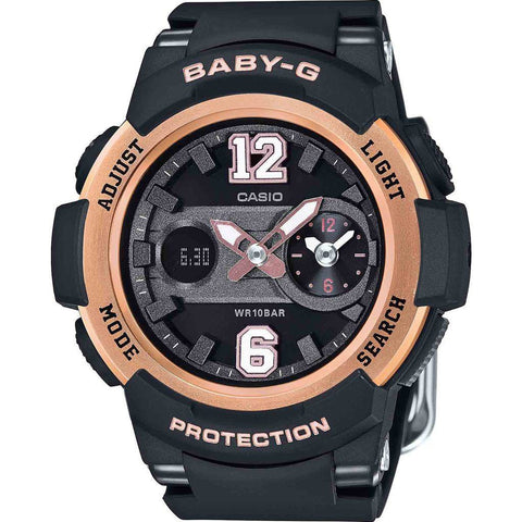 Casio Baby-G BGA-210-1BCR Watch | Black/Bronze