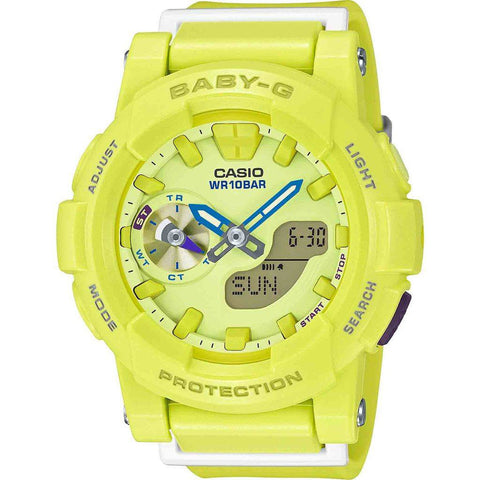 Casio Baby-G BGA-185-9ACR Watch | Yellow