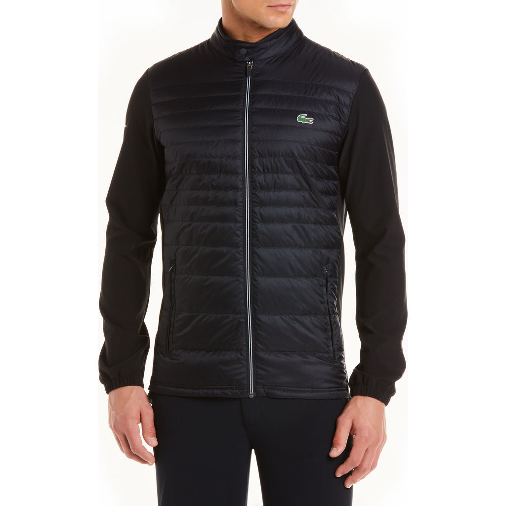 a5c1b0963 Lacoste Men s Sport Water-Resistant Technical Down Golf Jacket ...