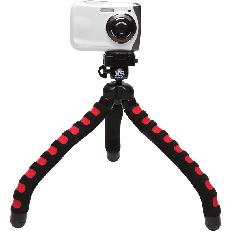 XSories Big Bendy Flexible Slip-Proof Tripod | Black/Red