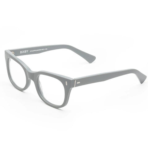 Caddis Bixby Blue Light Rx Reading Glasses | Matte Putty Grey