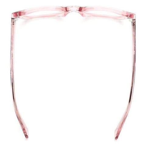 Caddis Bixby Blue Light Rx Reading Glasses | Polished Clear Pink