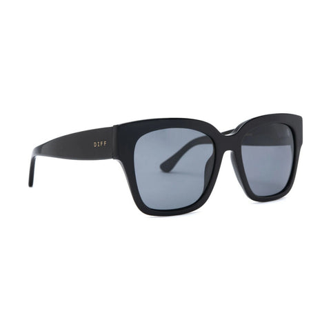 Diff Eyewear Bella Ii Sunglasses | Black + Grey Lens