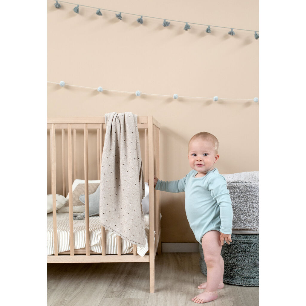 Lorena Canals Knitted Biscuit Baby Blanket