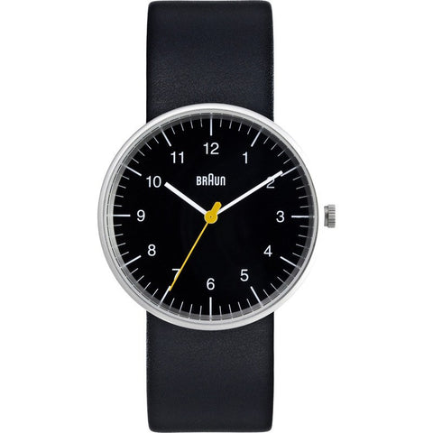 Braun BN0021 Black Classic Men's Watch | Leather BN0021BKBKG