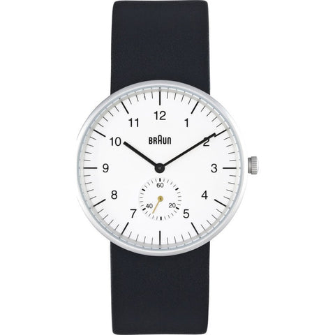 Braun BN0024 White Classic Men's Watch | Leather BN0024WHBKG