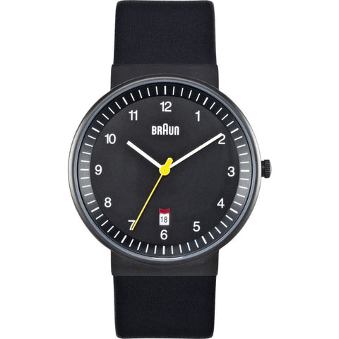 Braun BN0032 Black Classic Men's Watch | Leather BN0032BKBKG