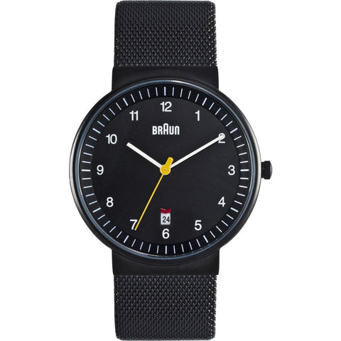 Braun BN0032 Black Classic Men's Watch | Leather BN0032BKBKMHG