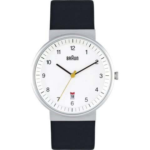 Braun BN0032 White Classic Watch | Leather BN0032WHBKG