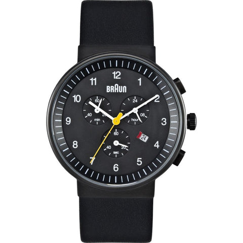 Braun BN0035 Black Classic Watch | Leather BN0035BKBKG