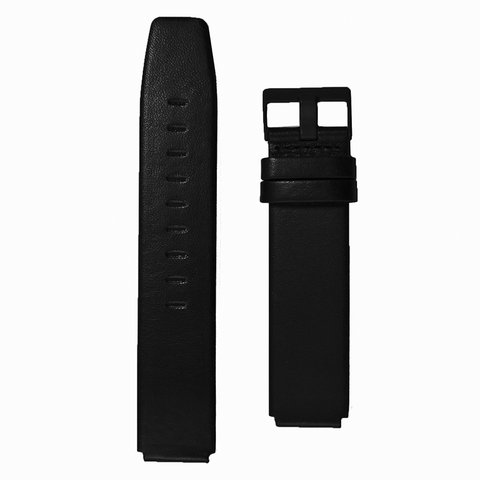 Braun Mens BN0035 BKBK Leather Strap | Black