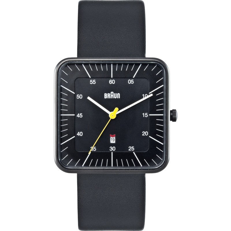 Braun BN0042 Black Classic Watch | Leather BN0042BKBKG