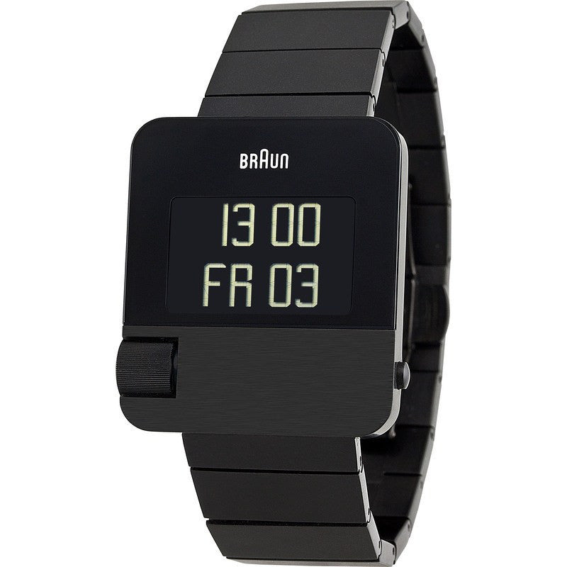 Braun BN0106 Black Prestige Digital Men's Watch | Steel