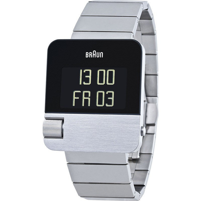 Braun BN0106 Steel Prestige Digital Men's Watch | Steel
